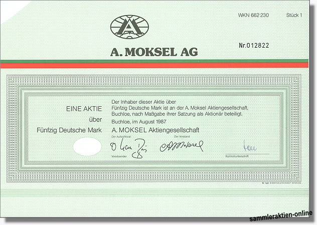 A. Moksel AG
