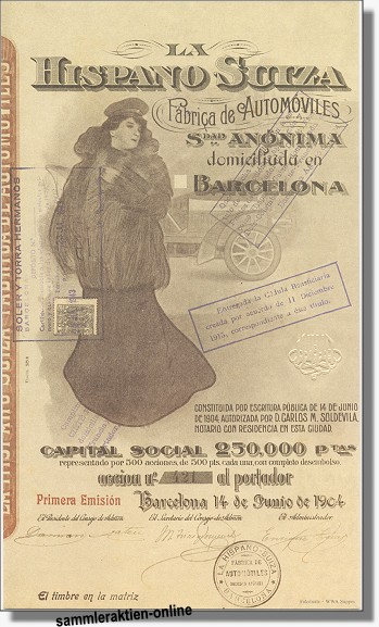 Hispano Suiza Fabrica de Automoviles
