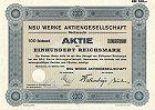 NSU Werke AG - Audi