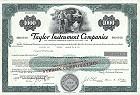 Taylor Instrument Companies - Sybron Corporation