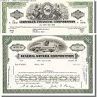 Branchenset Automobil General Motors & Chrysler