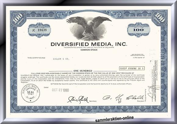 Diversified Media Inc.