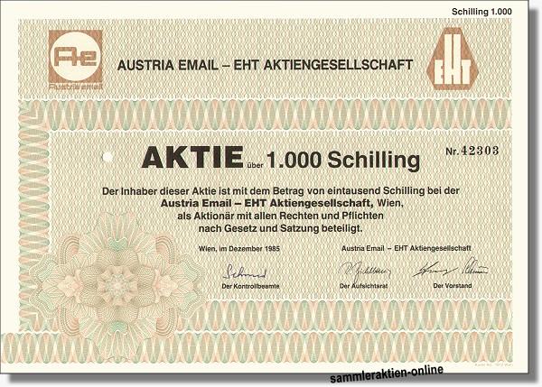 Austria Email - EHT AG