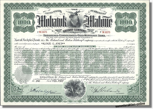 Mohawk and Malone Railway Company