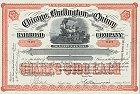 Chicago, Burlington and Quincy Railroad Company