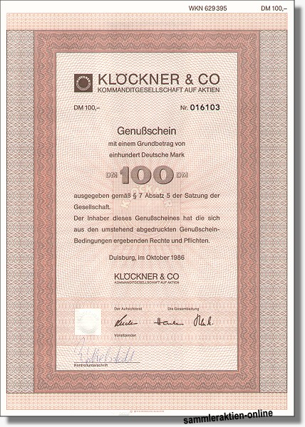 Klöckner & Co. KGaA