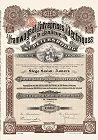 Historisches Wertpapier aus St. Petersburg - echte alte Sammleraktie