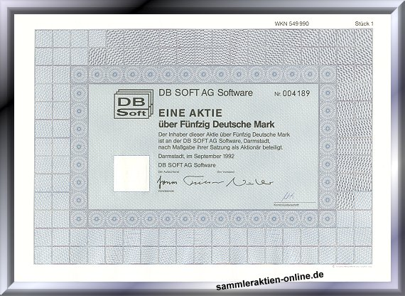 DB Soft AG Software