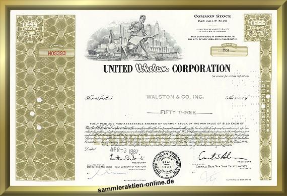 United Whelan Corporation