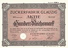Zuckerfabrik Glauzig AG