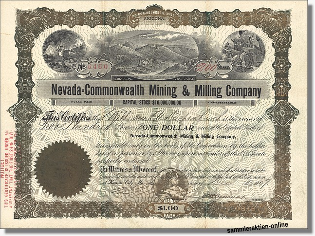 Nevada-Commonwealth Mining & Milling Company