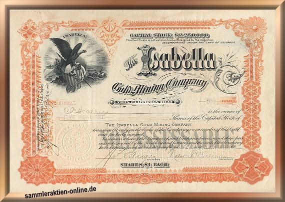 Isabella Gold Mining Company