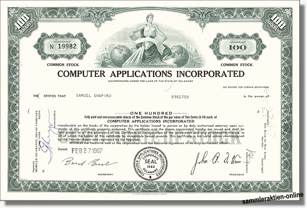 Computer Applications Inc.