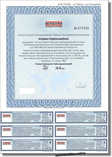 Nixdorf Computer Aktiengesellschaft