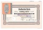 Gladbacher Bank AG Aktiengesellschaft von 1922