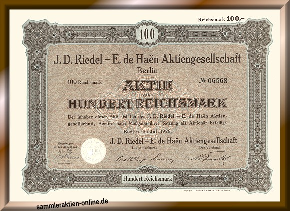 J. D. Riedel - E. de Haën AG