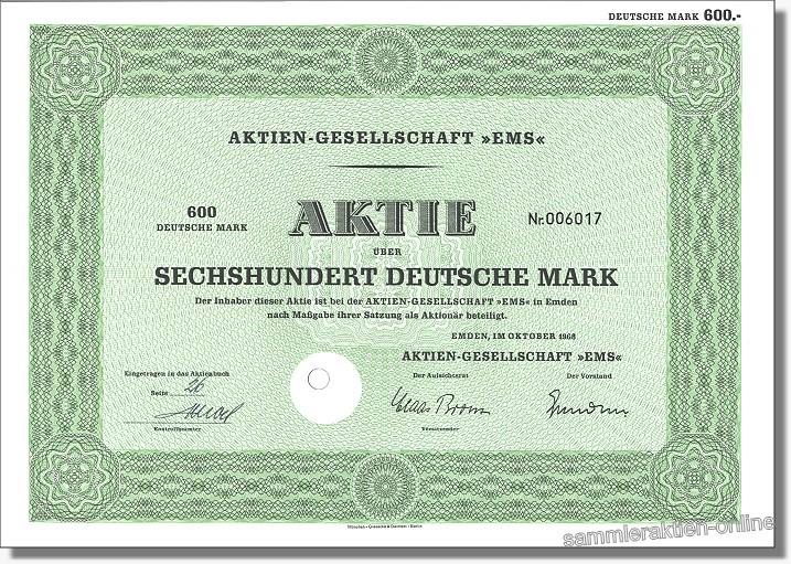 Aktien-Gesellschaft EMS