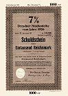 Dresden Stadtanleihe
