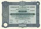 Vereinigte Chemische Werke AG - Schering