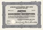 Steingutfabrik AG