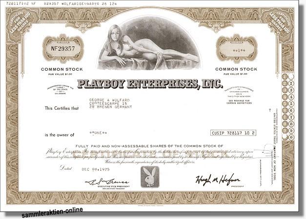 Playboy Enterprises - Dekodruck