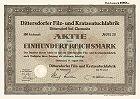 Dittersdorfer Filz- und Kratzentuchfabrik AG