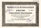 Mickoleit & Co. Metallwarenfabrik AG, Ekmo Bauhandels-AG