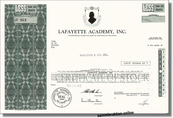Lafayette Academy Inc.