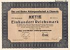 Bau und Boden Aktiengesellschaft in Chemnitz