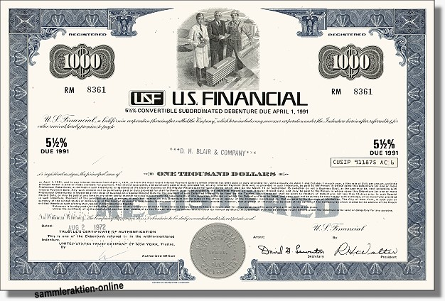 USF - U.S. Financial