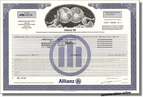 Allianz Aktie Europa