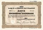 OMZ - Vereinigte Ost- und Mitteldeutsche Zement AG