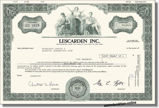 Lescarden Inc.