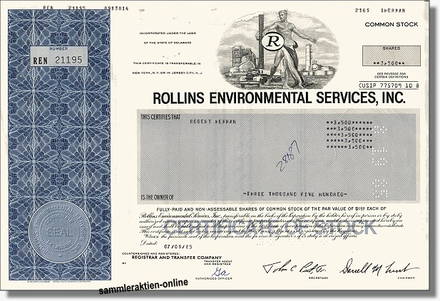 Rollins Environmental Services Inc.