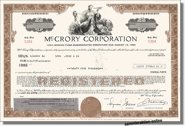 Mc Crory Corporation