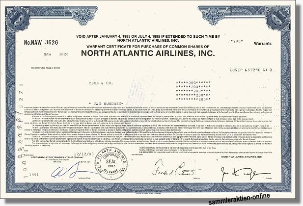 North Atlantic Airlines Inc.
