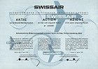 Swissair Aktien