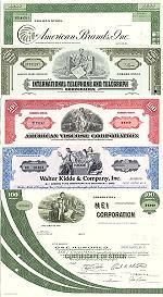 Geschenkset Wirtschaft und Industrie<br>USA Nr.10  - 5 div. Papiere