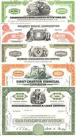 Geschenkset Wirtschaft und Industrie<br>USA Nr.03  - 5 div. Papiere