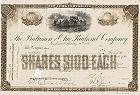 Alte Aktien und historische Wertpapiere vor 1900