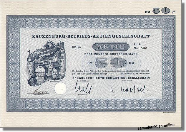 Kauzenburg-Betriebs-AG