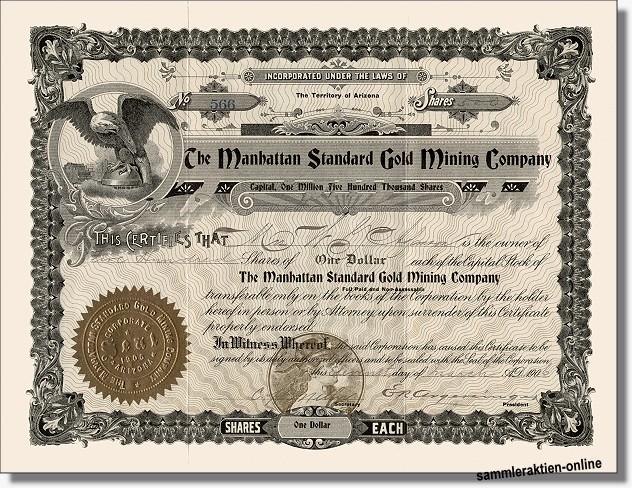 Manhattan Standard Gold Mining Company