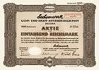Sachsenwerk Licht- und Kraft AG - AEG