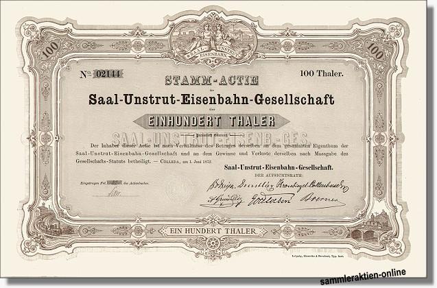 Saal-Unstrut-Eisenbahn-Gesellschaft