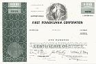 First Pennsylvania Corporation