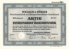 Wegelin & Hübner Maschinenfabrik und Eisengießerei