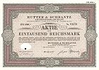 Hutter und Schrantz - Aktie