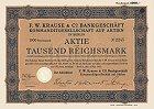 F. W. Krause & Co. Bankgeschäft KGaA