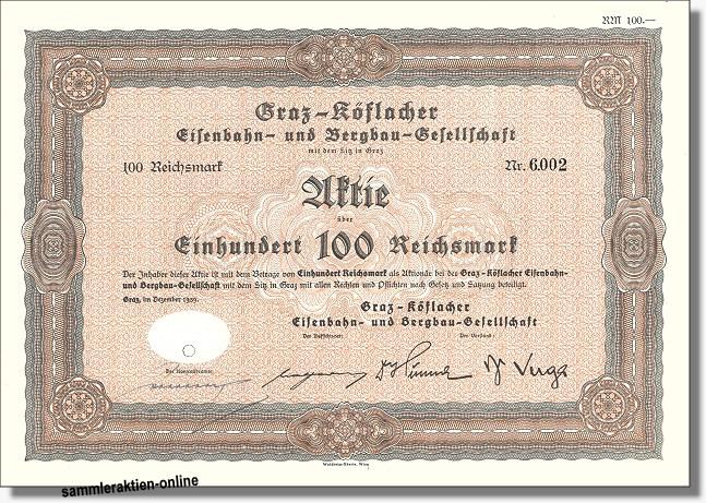 Graz-Köflacher Eisenbahn- und Bergbau-Gesellschaft