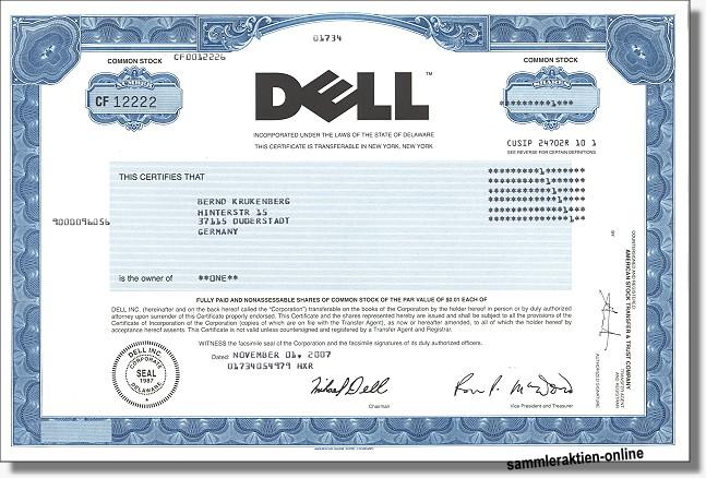 Dell Inc. - ehem. Dell Computer Corporation